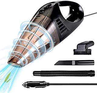 Car Vacuum Cleaner,Portable Vacuum Cleaner for Car,5000pa High Power Auto Accessories Kit for Detailing and Cleaning Car Interior,Wet and Dry Auto Handheld Vacuum Cleaner for Car,16.4FT,12V 100W