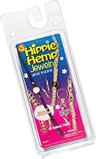 Craft County Hippie Hemp Jewelry and More Accessory Creation Kits – Create 7 Different Projects – Instructions Included – All Natural Fibers – Make Earrings, Bracelets, and Keychains