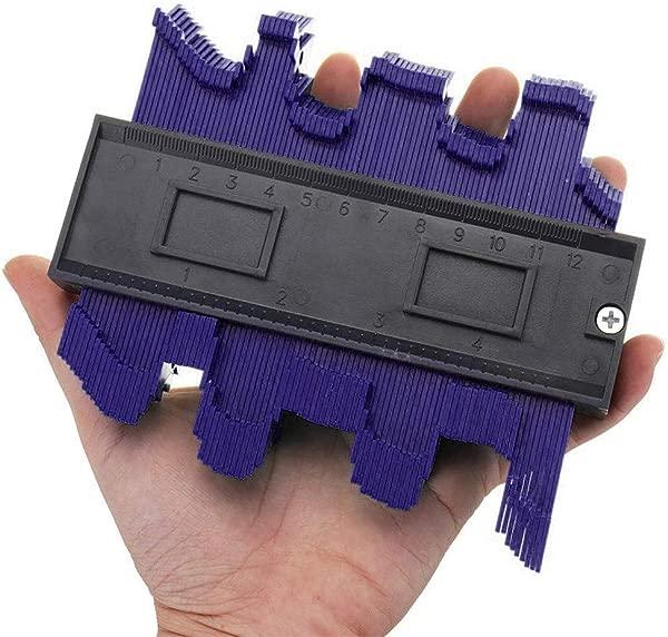 Panzisun Contour Gauge Duplicator 4 Inch Profile Shape Copying Tool Pots Making Easy Cutting A