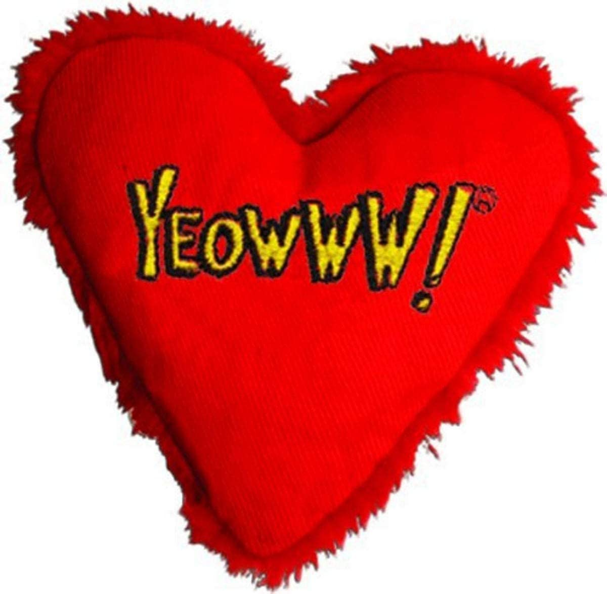 Yeowww Hearrrt Attack Catnip Toy