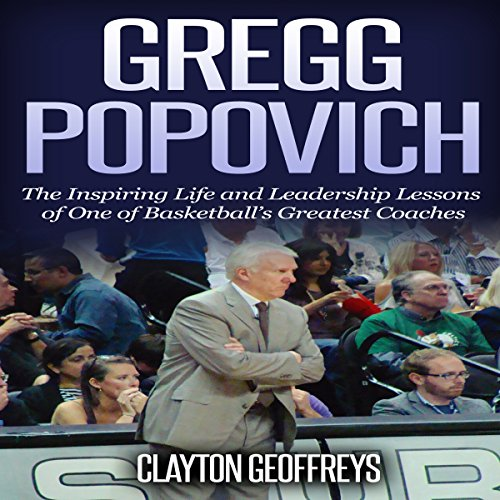 Gregg Popovich audiobook cover art