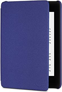 Kindle Paperwhite Leather Cover (10th Generation-2018) - Indigo Purple