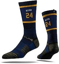 NBA Utah Jazz Strideline Player Crew Socks , Grayson Allen , Grayson Allen