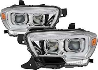 Carpart4u for 2016-2018 Tacoma TRD Models only (Don't Fit SR & SR5 Models) DRL Light Bar w/Sequential Turn Signal