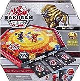 BAKUGAN 6056040 ARMORED ALLIANCE - BAKUGAN BALL COMBAT ARENA - Juego de mesa Bakugan con 1 figura de...