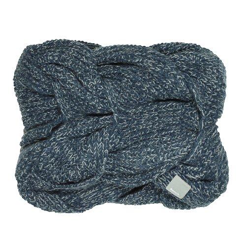 Bench Damen Mütze, Schal & Handschuh-Set Loopschal Lacoon-B blau (Midnight Navy) One Size