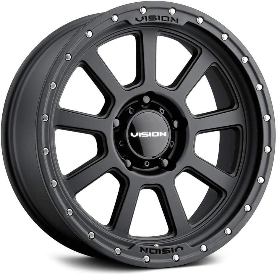 Vision Over item handling ☆ 350 OJOS Limited time sale Custom Wheel - Patte Bolt Offset 17x9 12 5x150