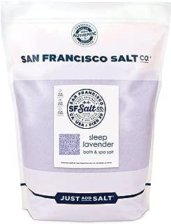 Sleep Lavender Bath Salts - 20 lb. Bulk Bag by San Francisco Salt Company