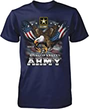 NOFO Clothing Co US Army, Since 1775, Eagle with American Flag Wings Men's T-Shirt