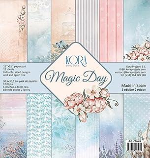 Magic Day - Pack (12) Scrapbooking Papiere (30,5 x 30,5 cm)