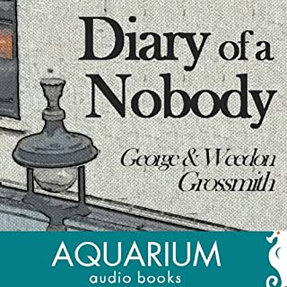 The Diary of a Nobody audiobook cover art