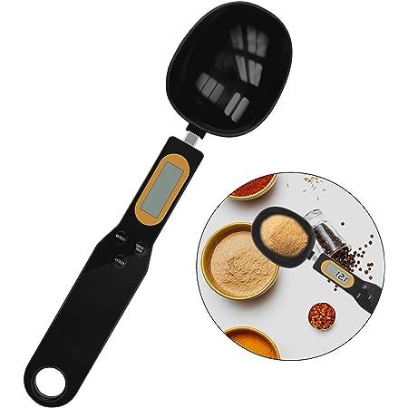 SNUNGPHIR Électronique Cuillère Mesure, cuillère doseuse numérique, Cuillère de Pesée Électronique de Cuisine avec Écran LCD, Balance Alimentaire Multifonctions la Cuisson, Les Épices
