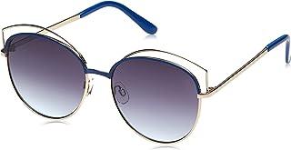 TFL Cat Eye Sunglasses for Women - Grey Lens 16499-Blue