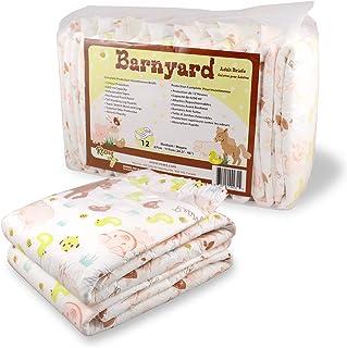 Rearz - Barnyard - Adult Diaper (12 Pack) (Small)