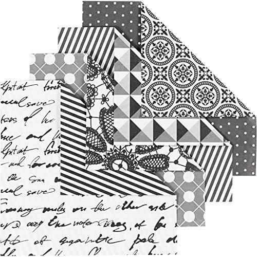 Origami-Papier, 10 x 10 cm, 80 g, Paris, 50 Blatt sortiert