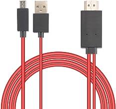 REDFLAG Adaptador Convertidor Cable 6.5 Feet MHL 11 Pin