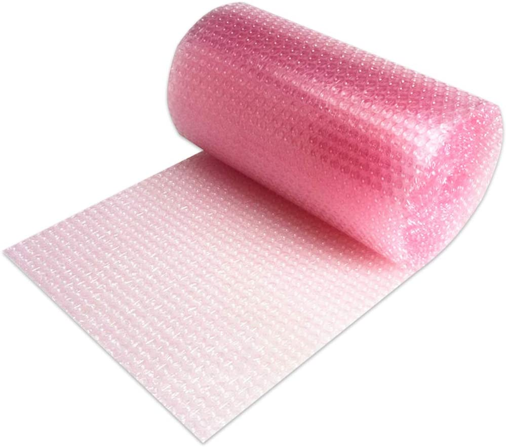 Mighty Gadget Pink Anti-Static Bubble mart 12 Roll Wrap in Ranking TOP15 Cushioning