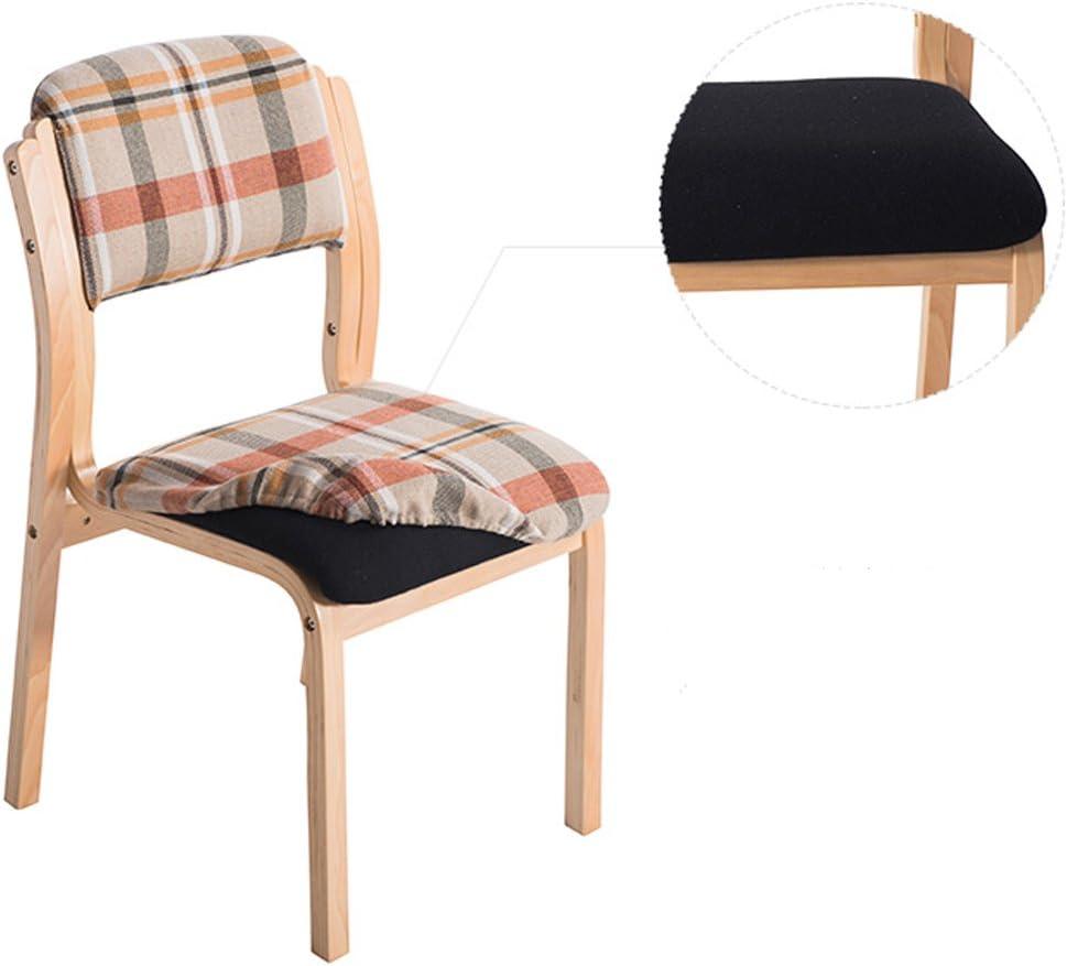 XXT-Chaise de Salle à Manger en Bois Massif Chaise de Maison Minimaliste Moderne Durable (Color : D) C