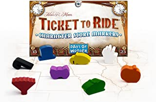 Days of Wonder Ticket To Ride Character Score Markers