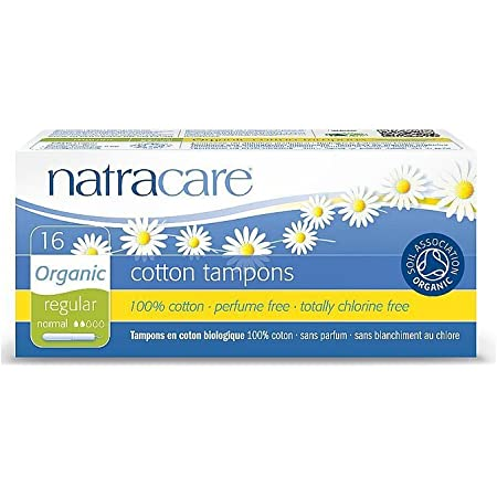Natracare Tampon Sans Applicateur R/égulier x20
