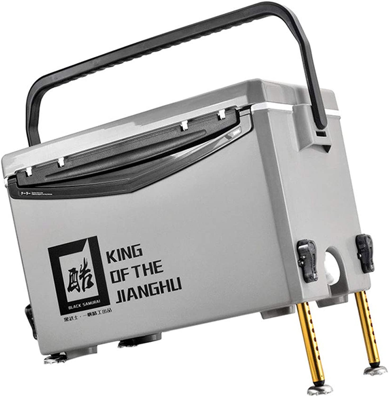 Z-Fishing box MENA Uk Neue 30l-Angelbox, Integrierte Vierfu-Hebekonstruktion, Korrosionsschutz- Und Oxidationsschutz, Aluminium-Magnesium-Legierung, Multifunktions-Angelbox