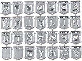 comprar comparacion 1 Pc Troqueles De Corte Inglés De Letra Del Alfabeto De Metal Troqueles De Corte De La Plantilla Compatible Con La Fabrica...