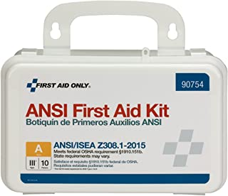 Pac-Kit by First Aid Only 90754 10 Person Bulk ANSI A, Plastic