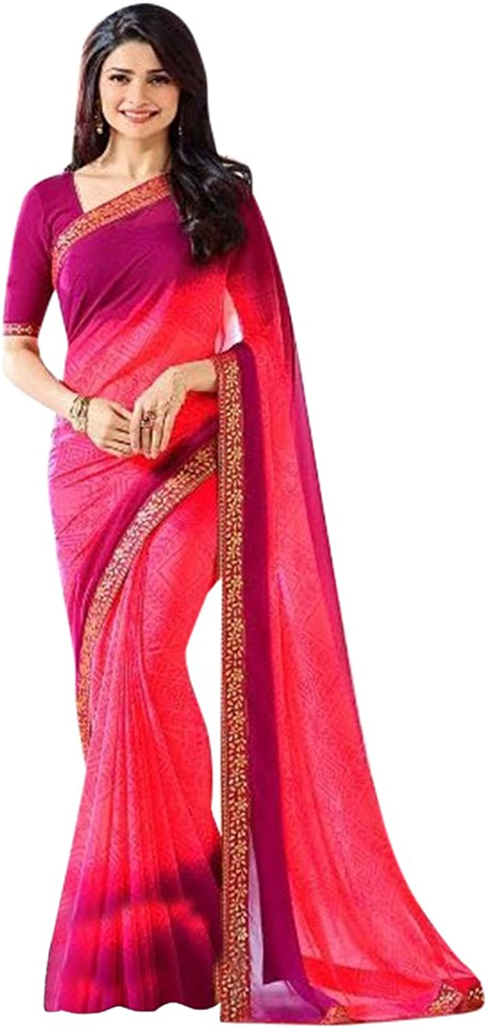 Bollywood Saree Sari Collection Blouse Wedding Party Wear Ceremony Women 663 8