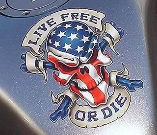 i5 Live Free Decal Graphic for Honda Kawasaki Suzuki Yamaha Harley