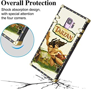 DISNEY COLLECTION Tarzán Poster Square Edge Case Compatible Samsung Galaxy S9 5.8in