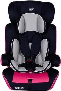 مقعد للاطفال والرضع مخصص للسيارات من بيبي نيست، لون زهري