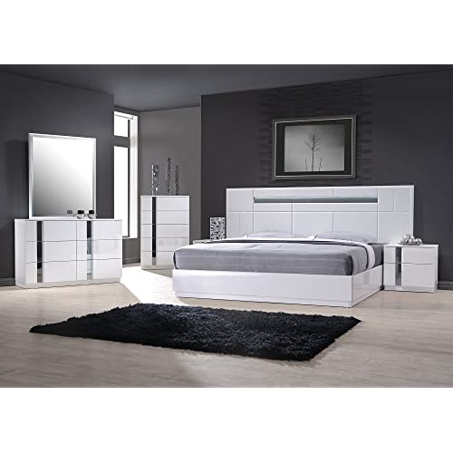 . Contemporary Bedroom Set  Amazon com