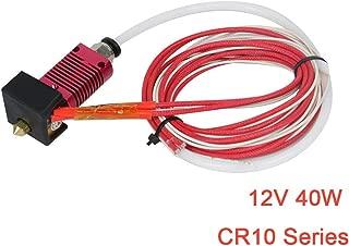 Redrex 3Pcs 12V 50W Cartouche C/éRamique Chauffant pour Imprimante 3D Prusa Mendel Extrudeuse Hotend