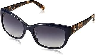 Kate Spade Women's Johans Round Sunglasses,Navy