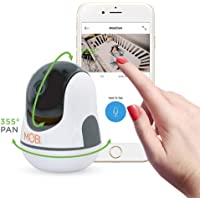 MobiCam HDX Smart HD WiFi Baby Monitoring Camera with Digital Pan, Tilt, Zoom and Two-way Audio
