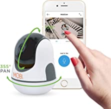 MobiCam HDX WiFi Baby Camera with Digital Pan, Tilt and Zoom via Smart Phone App Plus Two-Way Talk, Night Vision