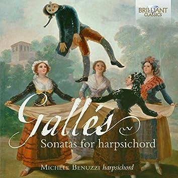 Gallés: Sonatas for Harpsichord