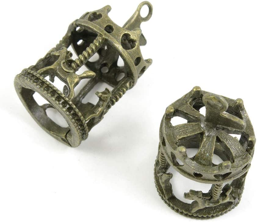 70 PCS Metal Antique Bronze Supplies Making List price Charms Color Now on sale Jewelry