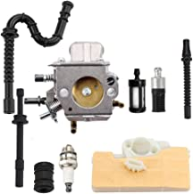 Dxent MS290 Carburetor Air Filter for STIHL MS310 MS390 029 039 Chainsaw with Fuel Line Filter Spark Plug Tune-Up Kit