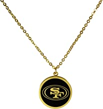 Siskiyou NFL Womens Gold Tone Necklace One Size yellow