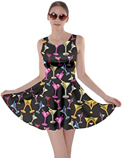Best martini print dress Reviews