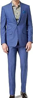 Tallia Mens Suit Set Neat Short Two Button Wool Notch