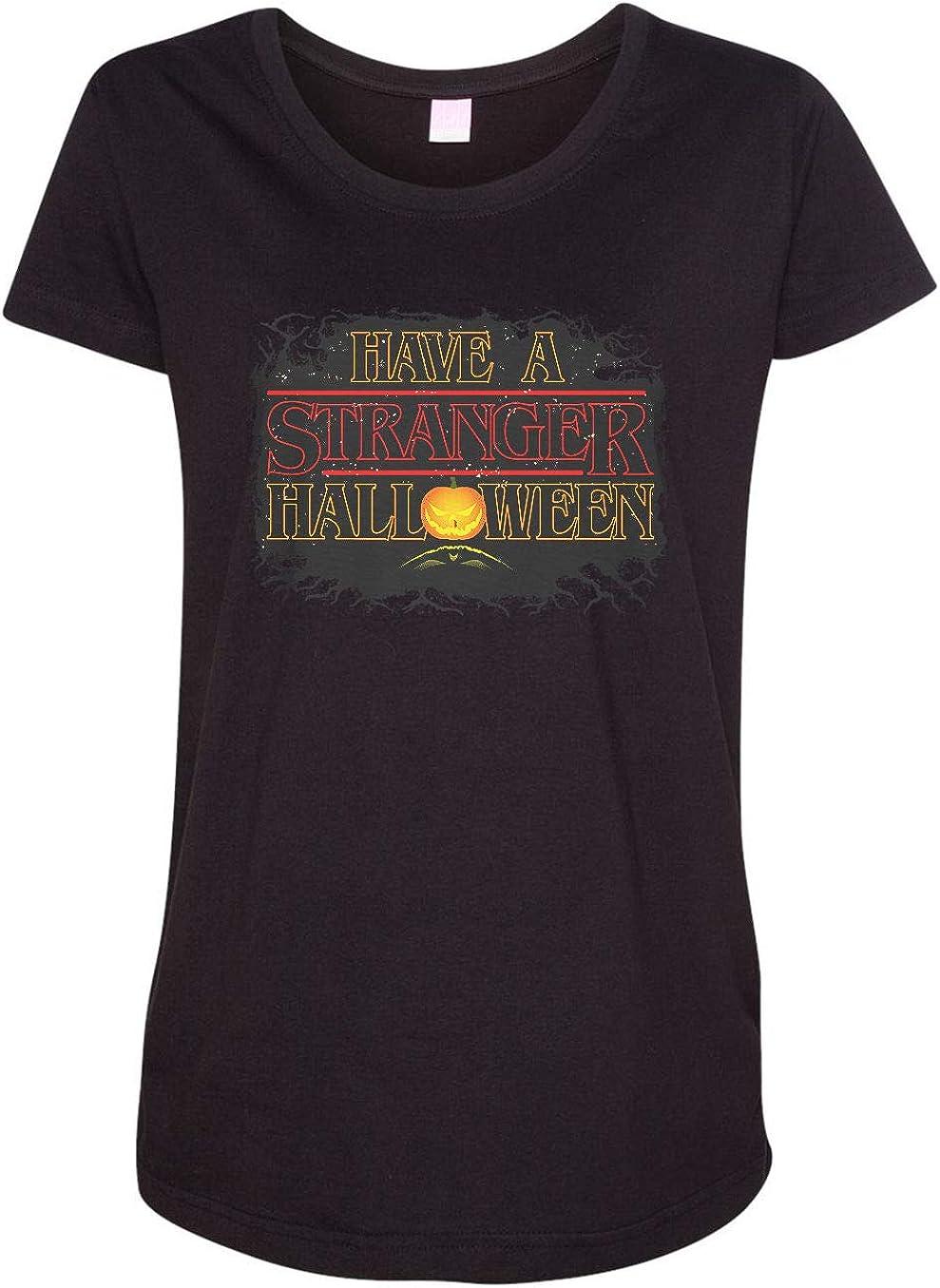 HARD EDGE DESIGN Women's Stranger Halloween T-Shirt