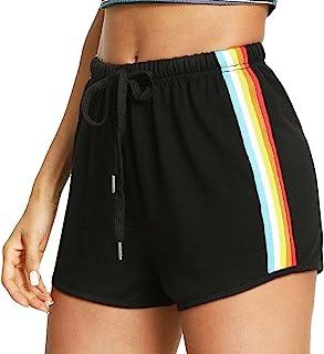 Hailys donna estate pantaloncini tinta Donna Pantaloni Leggeri Pantaloni Donna shorts