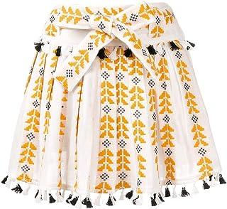 DODO BAR OR Women's DBO715MUSTERED White Cotton Skirt