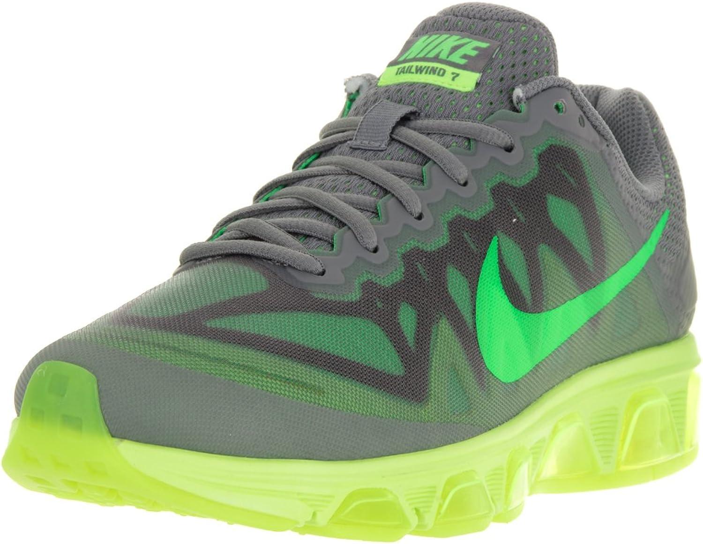 Nike Men's Air Max Tailwind 7 Cool Grey Green Strike Volt Running shoes 9 Men US