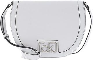 Calvin Klein Saddle Bag Cement