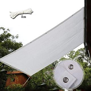 CelinaSun Tenda Parasole a Vela Giardino Balcone HDPE polietilene Traspirante Rettangolare 2 x 4 m Grigio Antracite