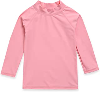 Vaenait baby 2T-7T Boys & Girls UPF 50+ Long Sleeve Rashguard Swim Shirt Quick Dry