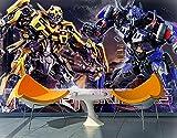 LIANXI Puzzle 1000 Piezas-Xxl75*50Cm - Transformers 4: Renacimiento De La Extinción- Rompecabezas Impossible para Toda La Familia, Colorido, Rompecabezas para Adultos A Partir De 14 Años